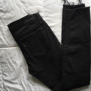 New Levi's ripped jeans - cropped